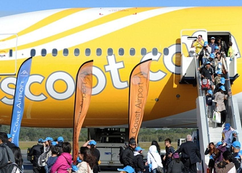 HIGH EXPECTATIONS AFTER SCOOT'S LATE ARRIVAL