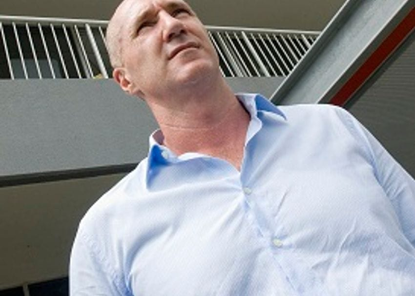 SMITH FRONTS UP TO FACE EXPLOSIVE CHARGES
