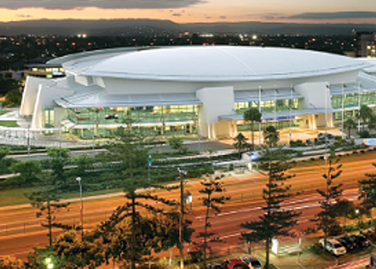 SUPER-SIZED SCREEN UPGRADE FOR GCCEC