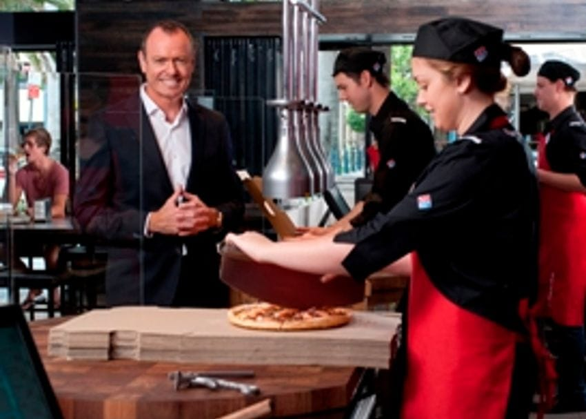 DOMINO'S RESULTS HEAT UP