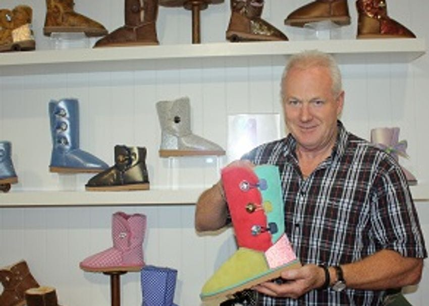 COMFY BOOT MAKER GETS PRICKLY RUN ON HOME TURF
