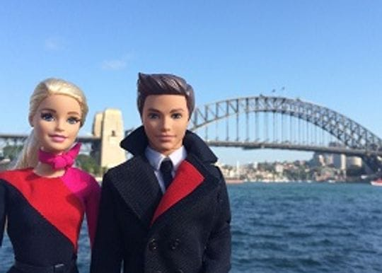 QANTAS CELEBRATES 95th BIRTHDAY WITH BARBIE AND KEN