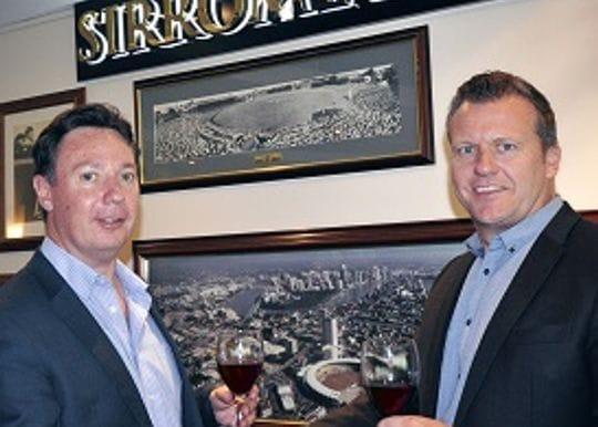 SIRROMET TOASTS TO CRICKET HISTORY