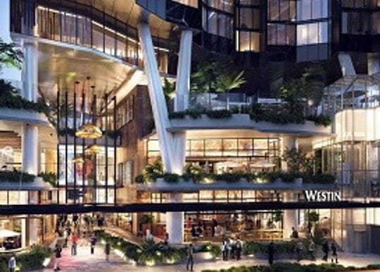 THE WESTIN HEADS TO RIVER CITY