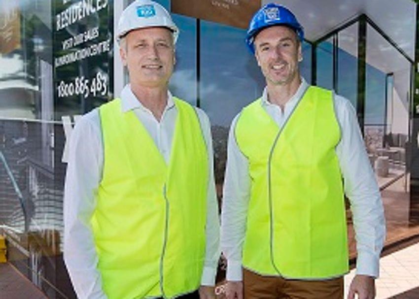HUTCHINSON BUILDERS BREAKS GROUND ON ILLUMINA