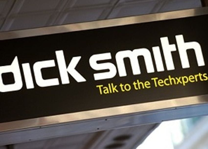 DICK SMITH'S 'MOVE' STORES HIT WALL AT AIRPORT