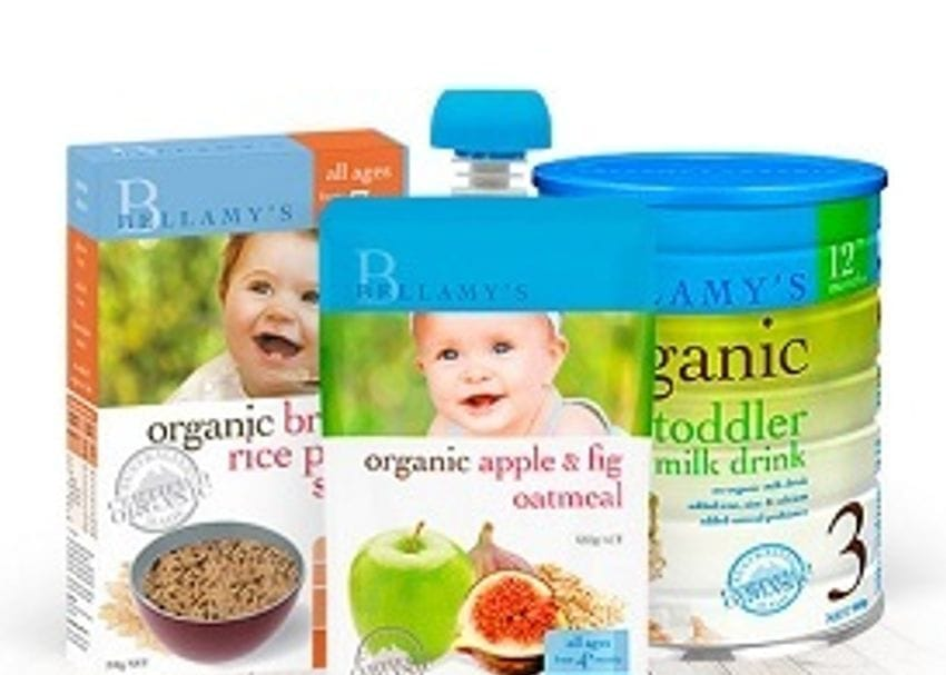 BELLAMY'S FINDS EXPORTING BABY FORMULA INTO CHINA IS NO CHILD'S PLAY