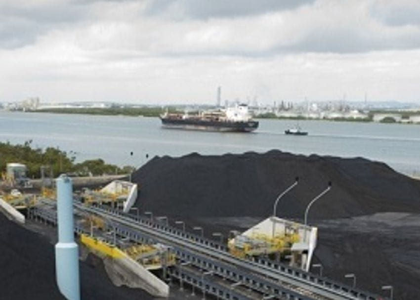 BRISBANE COAL TERMINAL REOPENS AFTER SHIPLOADER REPAIR