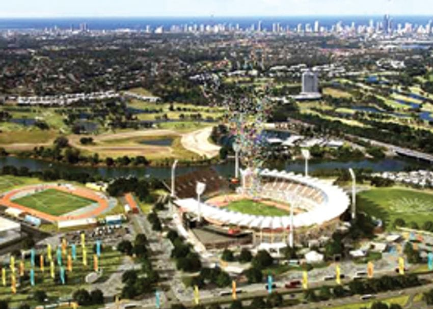 COMMONWEALTH GAMES PREPARATIONS HIT THE 'ONE YEAR TO GO' MARK