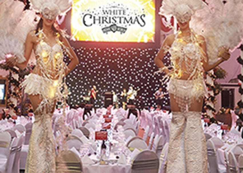 Movie World brings a magical White Christmas to the Gold Coast