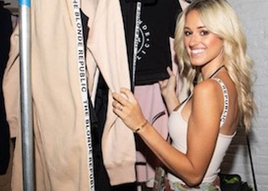 How this influencer took on the fashion world with The Blonde Republic