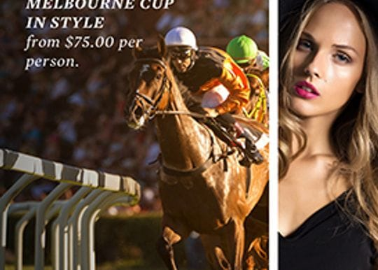 Enjoy Melbourne Cup lunch at a boutique equine themed hotel
