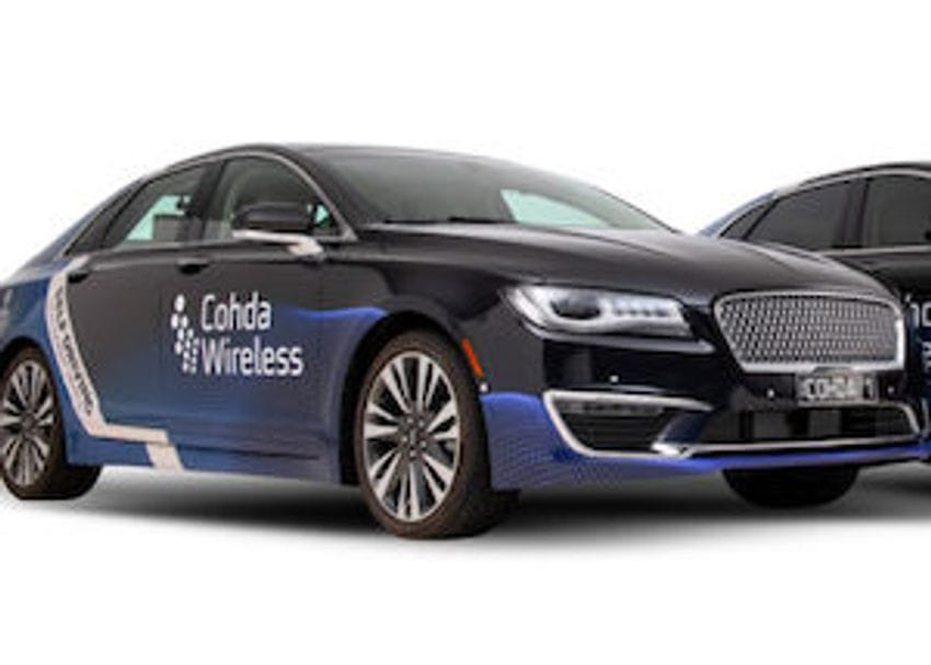 Cohda Wireless autonomous cars prove powerful in world-first trial