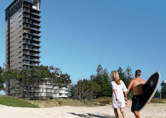 Optimus breaks ground on luxury apartment tower in Broadbeach