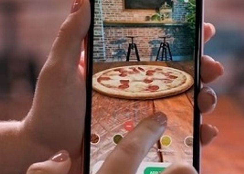 """""""Very early entry"""" with AR takes Domino's into uncharted food retail territory"""