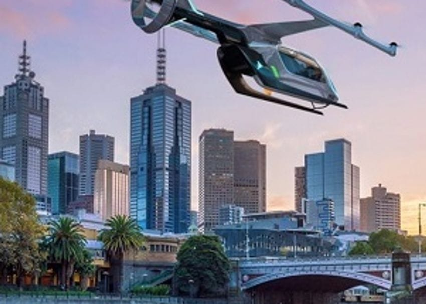 Uber Air pilot to take off in Melbourne