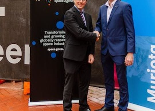 Myriota the first locals to sign with the Australian Space Agency