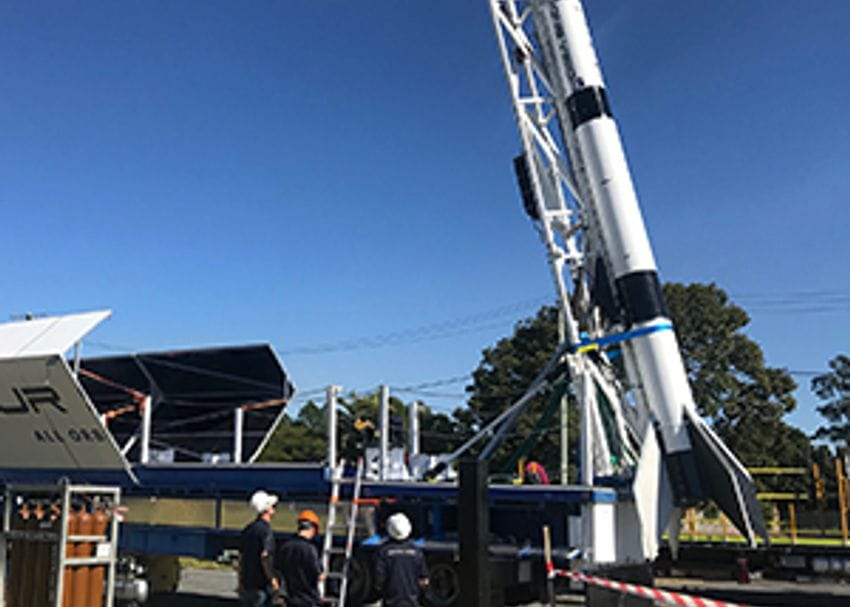 Gilmour Space Tech counts down to momentous rocket launch