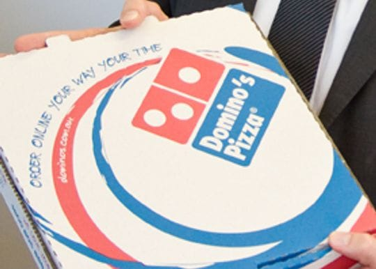 Domino's tastes delight with $2.9 billion in global sales