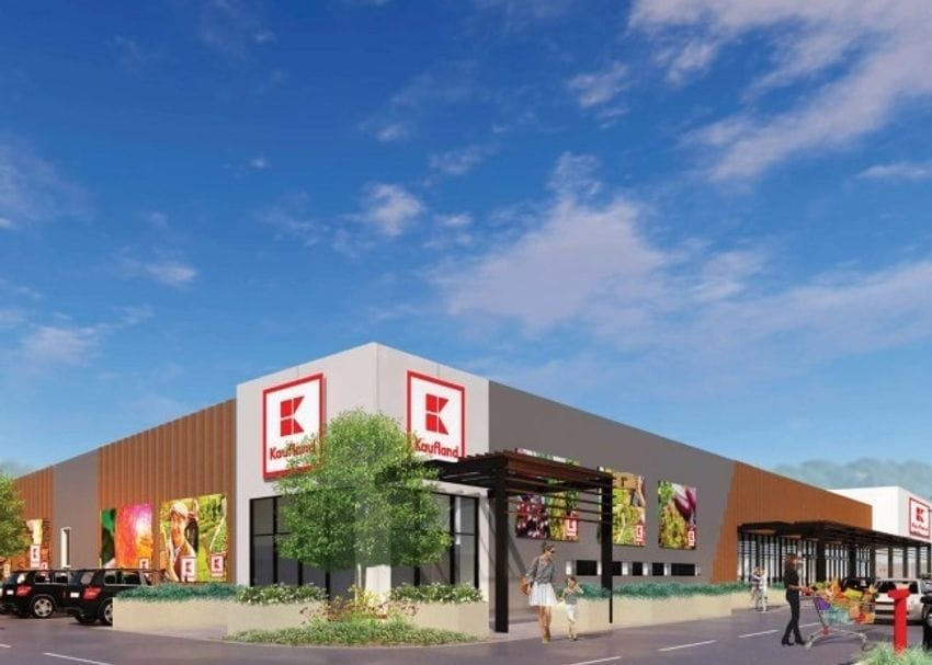 Construction underway for Kaufland's first Adelaide store