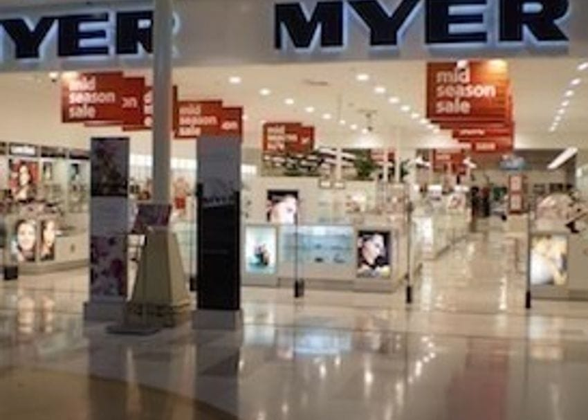Online sales push Myer back into the black