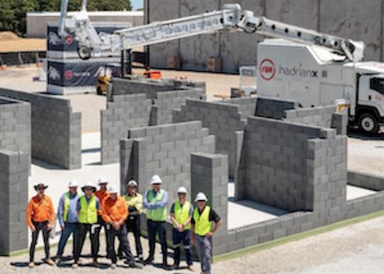 Fastbrick Australia enters into strategic partnership with WA home builder
