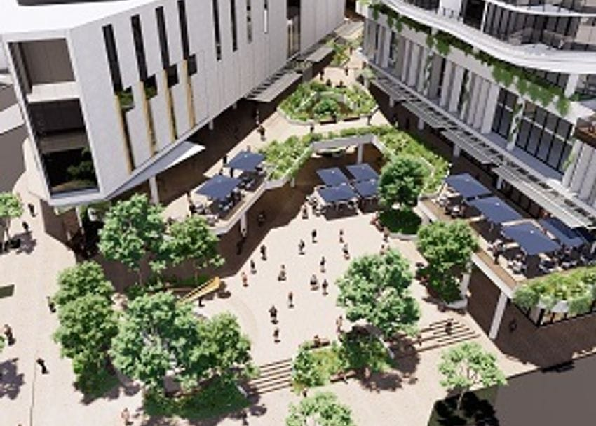 Development Application lodged for $450m Toowong Town Centre in Brisbane