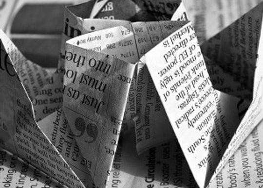 Print newspapers are dead - now what?