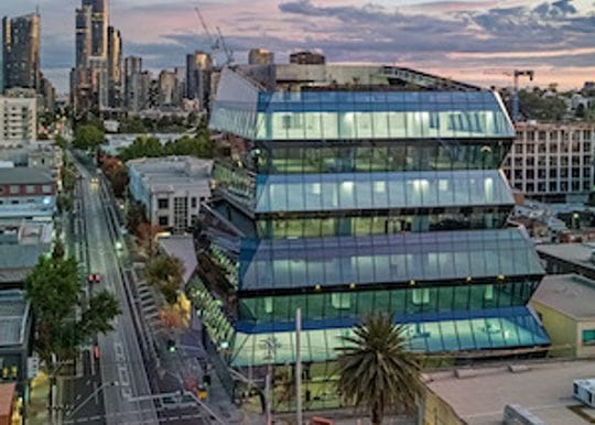 Melbourne office tower anchored by Domain settles for $50 million