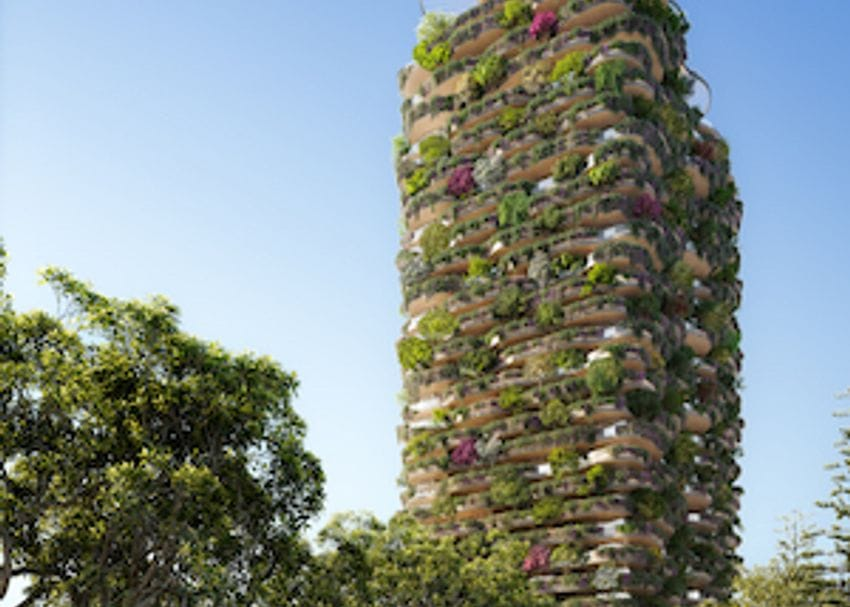 "World's ""greenest residential building"" proposed for Brisbane"