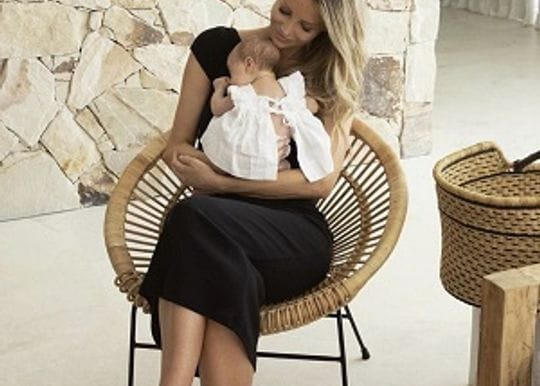 Jennifer Hawkins the new brand ambassador at Bubs Australia