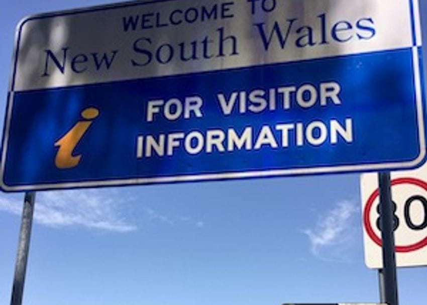 NSW eases border restrictions for regional Victorians