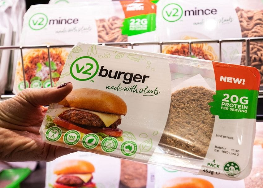 Rebel Whopper creators expand plant-based range to Woolworths