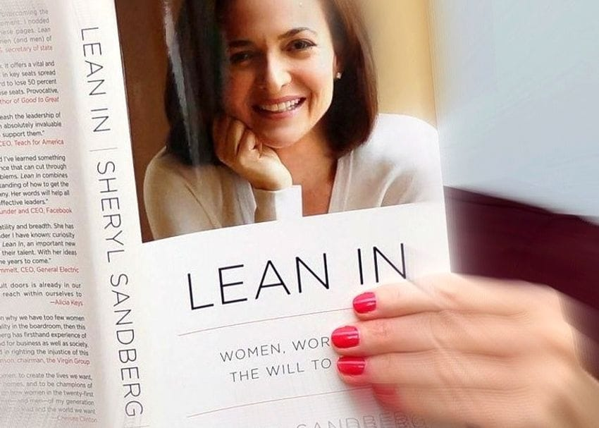That advice to women to 'lean in', be more confident... it doesn't help, and data show it