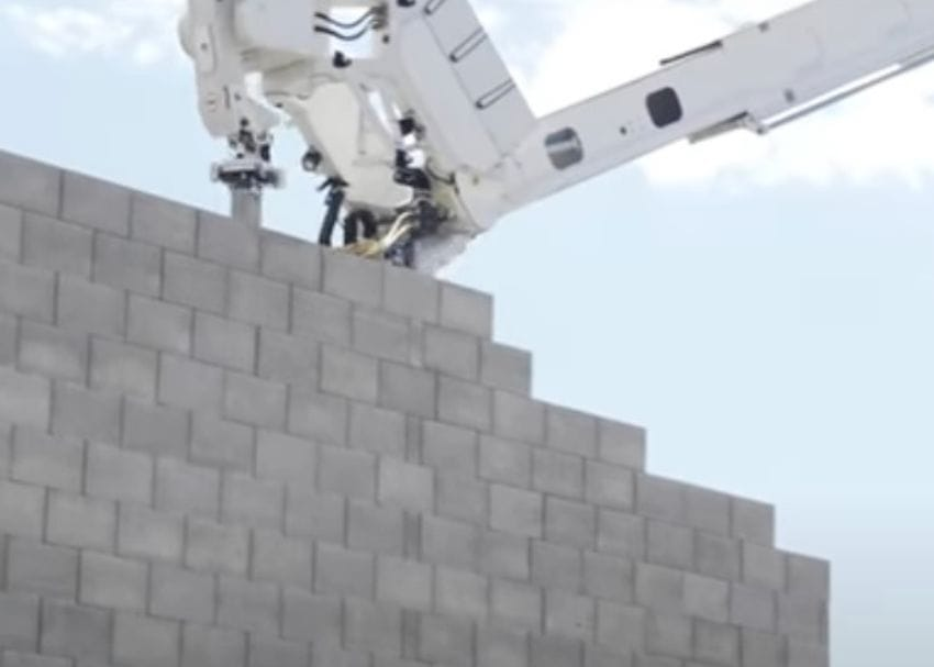 Robotic builder FBR completes two-storey prototype