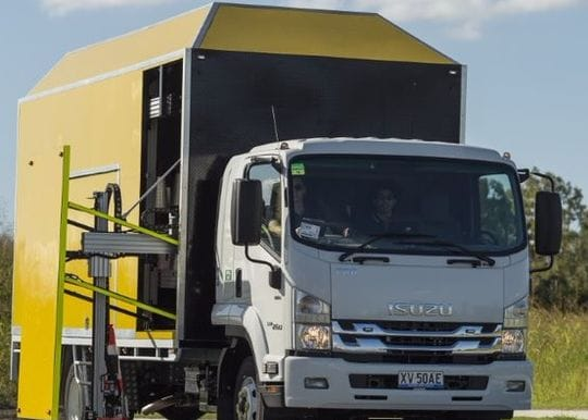 Arrowes launches automated cone truck to save road worker lives