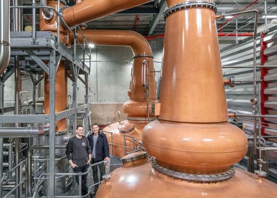 Archie Rose unveils high-tech whisky and gin distillery