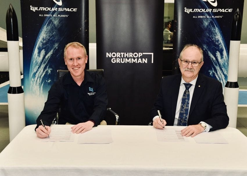 Gilmour Space partners with military giant Northrop Grumman to grow Aussie space sector