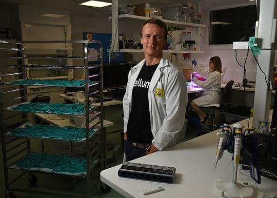 An entrepreneur for the times: Ellume COVID test developer Sean Parsons wins Brisbane business award