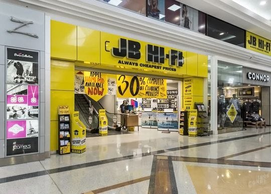 JB Hi-Fi shares hit new heights on 86 per cent profit spike