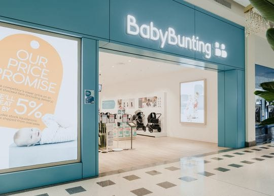 Baby Bunting rides its own baby boom as online sales double