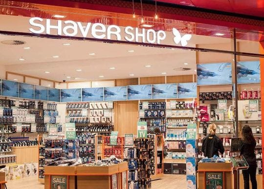 Shaver Shop online sales more than double