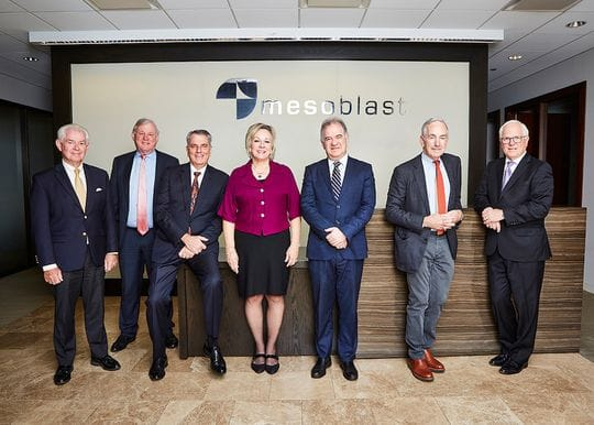 Mesoblast receives $138m injection from US investors
