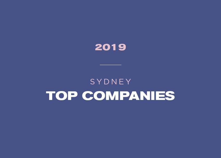 Sydney's top companies 2019 revealed