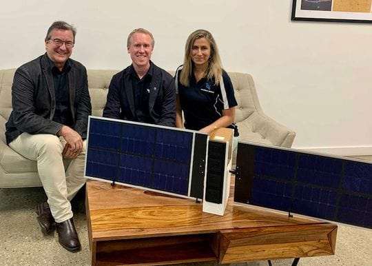 Aussie space pioneers Fleet and Gilmour partner for satellite launch