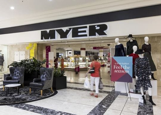 Myer to exit store in Knox, Victoria