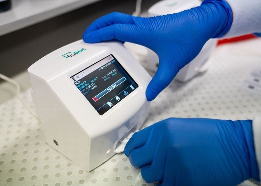 AnteoTech launches 15-minute COVID-19 test in Europe