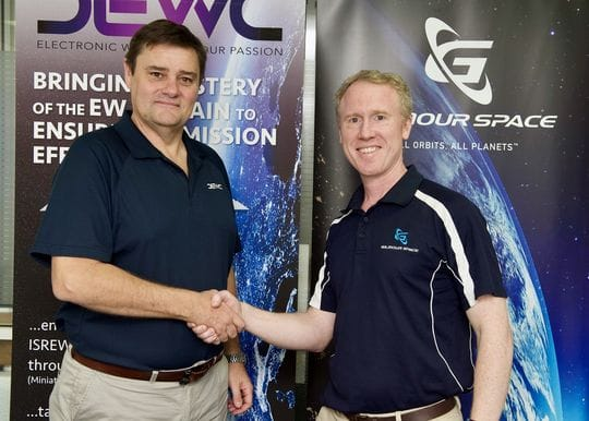 Gilmour Space Technologies partners with electronic warfare systems company