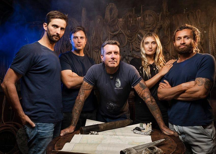 Disney+ to sail WA's rocky shores with Shipwreck Hunters Australia documentary