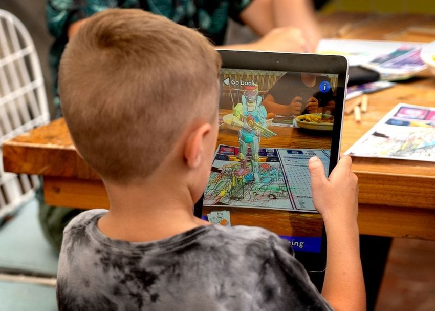 Grub Lab kicks off augmented reality play pack in restaurants with NRL partnership